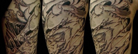 First session Kitsune by Chris