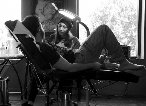 Chris Tattooing